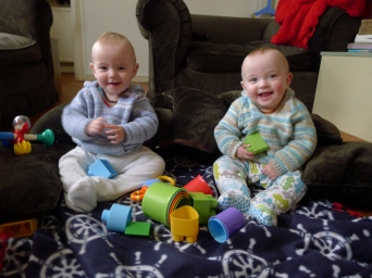 Learning to sit up independently at 12 months ( 9 months corrected)