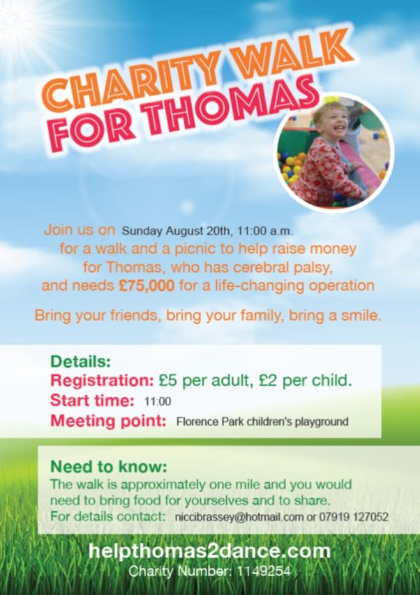 Flo Park Walk for Thomas poster