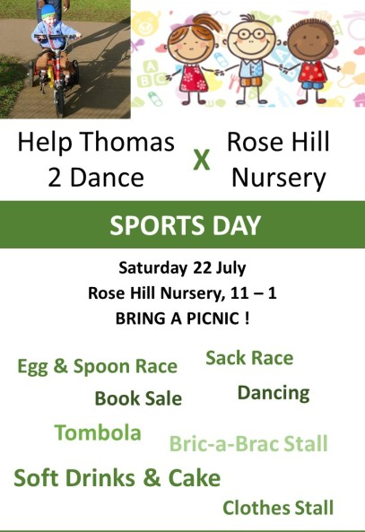 Nursery sports day poster